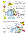 Clear Stamp Set - Decorating Snowman