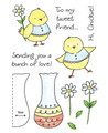 Clear Stamp Set - Flower Chick