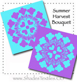 Summer Harvest Bouquet Double Hula Kit Violet & Aqua
