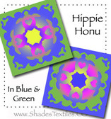 Hippie Honu Double Hula Kit - Ocean blue & green