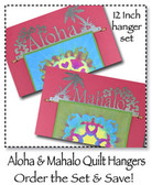 Aloha & Mahalo 2 piece Set 12 inch