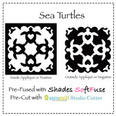 2 for 1 Sea Turtles Qty.4