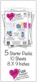 SoftFuse Premium Starter Pack 50 sheets 8 X 9 inches