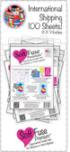 INTERNATIONAL SoftFuse Premium  100 SHEETS 8 X 9 INCHES
