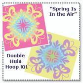 Spring is in the Air - Double Hula Hoop Kit