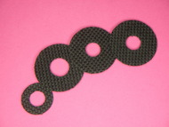 1-1A CARBON FIBER DRAG WASHER SET FOR ACCUDEPTH PLUS ADP57LC TROLLING REELS BY DRAGMASTERS