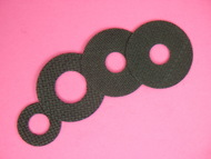 1-1A CARBON FIBER DRAG WASHER SET BY DRAGMASTERS FOR OKUMA CONVECTOR CV-20DLX, 30DLX. & 30LX