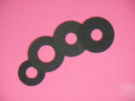 1-1A CARBON FIBER DRAG WASHER KIT BY DRAGMASTERS FOR SHIMANO CORSAIR CS-200, 300, 301, 400, 401, & 401 BAITCAST REELS