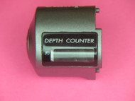 A-1 OKUMA 12120075 COUNTER COVER FOR COLD WATER LINE COUNTER REELS... FACTORY BACK ORDER TEMPORARILY OUT OF STOCK, NO ETA