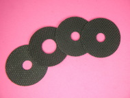 1-1A CARBON FIBER DRAG WASHER SET BY DRAGMASTERS FOR OKUMA CATALINA CT-25, 30, & 45 SERIES TROLLING REELS