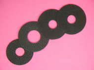 1-1A  CARBON FIBER DRAG WASHER SET BY DRAGMASTERS FOR OKUMA CLARION CLR-203L & CLR-204D LINE COUNTER REELS*