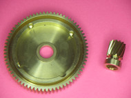 1-1A 6.2:1 HIGH SPEED GEAR SET CONVERSION FOR OKUMA CV/CW/CT/CLR 25, 30, 45, 303, 304, 305, 453, 454, & 455 SIZE REELS