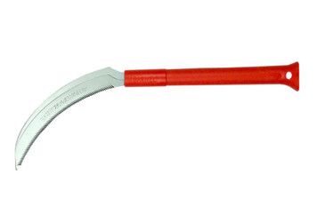 "BLK727P Sickle 13 1/4"" (33 cm) Serrated w/ Poly Handle, Stainless"