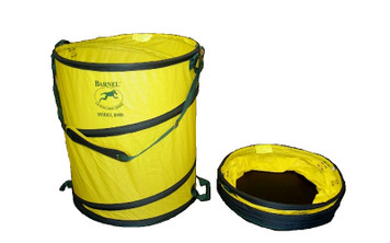 B900 43-Gallon Spring Bucket with Padded Shoulder Strap