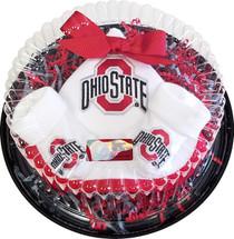 Ohio State Buckeyes Piece of Cake Baby Gift Set