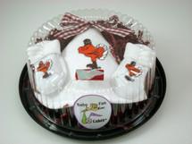 Virginia Tech Hokies Piece of Cake Baby Gift Set
