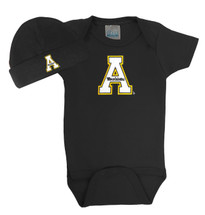 Appalachian State Mountaineers Baby Bodysuit and Cap