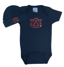 Auburn Tigers Baby Bodysuit and Cap Set
