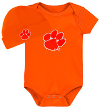 Clemson Tigers Baby Bodysuit and Cap Set