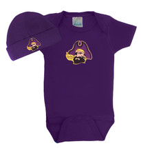 East Carolina Pirates Baby Bodysuit and Cap Set