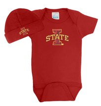 Iowa State Cyclones Baby Bodysuit and Cap
