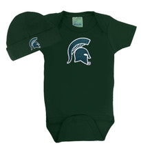 Michigan State Spartans Baby Bodysuit and Cap Set