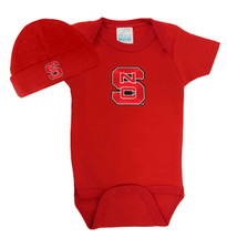 NC State Wolfpack Baby Bodysuit and Cap
