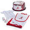 Alabama Crimson Tide Baby Fan Cake Clothing Gift Set