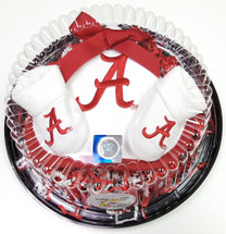 Alabama Crimson Tide Piece of Cake Baby Gift Set