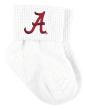 Alabama Crimson Tide Baby Sock Booties