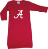 Alabama Crimson Tide Baby Layette Gown