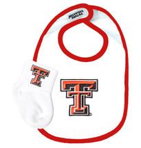 Texas Tech Red Raiders Baby Bib and Socks Set