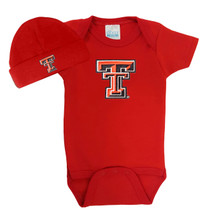 Texas Tech Red Raiders Baby Bodysuit and Cap