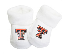 Texas Tech Red Raiders Baby Toe Booties