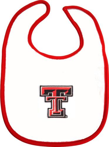 Texas Tech Red Raiders 2 Ply Baby Bib