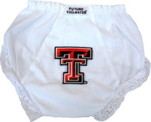Texas Tech Red Raiders Eyelet Baby Diaper Cover
