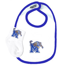 Memphis Tigers Baby Bib and Socks Set