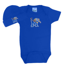 Memphis Tigers Baby Bodysuit and Cap Set