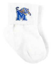 Memphis Tigers Baby Sock Booties