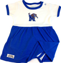Memphis Tigers Baby Onesie Dress