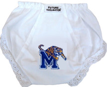 Memphis Tigers Eyelet Baby Diaper Cover