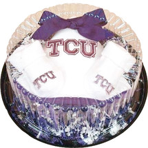 Texas Christian TCU Horned Frogs Piece of Cake Baby Set