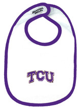 Texas Christian TCU Horned Frogs 2 Ply Baby Bib