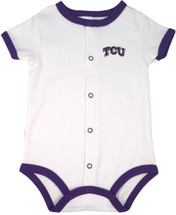 Texas Christian TCU Horned Frogs Baby Romper