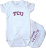 Texas Christian TCU Horned Frogs Future Tailgater Baby Onesie