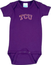 Texas Christian TCU Horned Frogs Baby Onesie