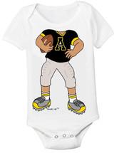 Appalachian State Mountaineers Heads Up! Football Baby Onesie