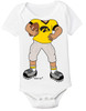 Iowa Hawkeyes Heads Up! Football Baby Onesie