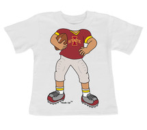 Iowa State Cyclones Heads Up! Football Infant/Toddler T-Shirt