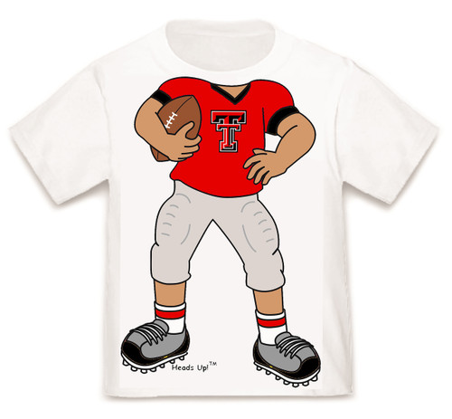 Texas Tech Red Raiders Heads Up! Football Infant/Toddler T-Shirt